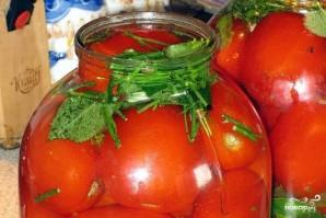 Соленые помидоры - фото шаг 7