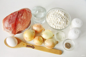 Манты с мясом и луком - фото шаг 1