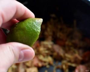 Карри из свинины с кокосовыми сливками - фото шаг 5