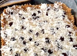 Пирог из крекеров со сгущенкой и шоколадом - фото шаг 7