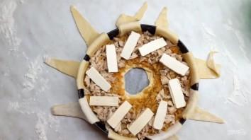 Вкусный пирог с капустой и мясом - фото шаг 3