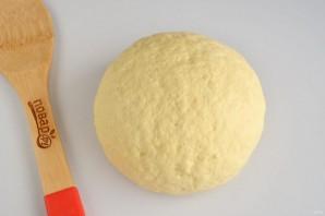 Лимонное пирожное с грецкими орехами, изюмом и безе - фото шаг 4