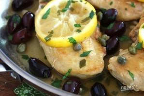 Куриная грудка с лимоном на сковороде - фото шаг 6