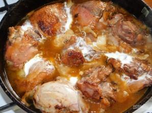 Куриные бедра в малиновом маринаде - фото шаг 7