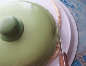 Пирог на сковороде сладкий - фото шаг 7