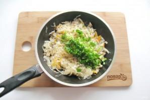Пирог с квашеной капустой и грибами - фото шаг 10