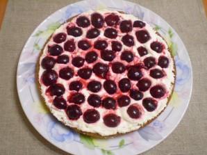 Торт с ягодами - фото шаг 10