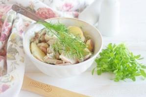 Полезный куриный салат - фото шаг 9
