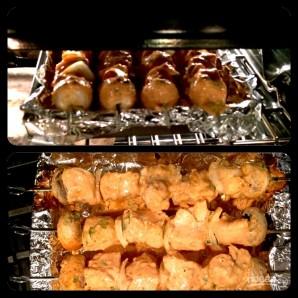 Диетические шашлыки (шашлык из куриной грудки) - фото шаг 7