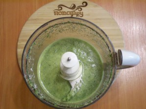 Зеленый коктейль с яблоком - фото шаг 5