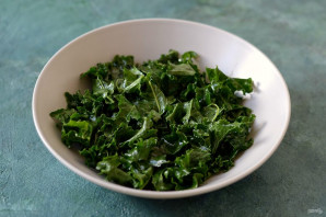Теплый салат с тыквой - фото шаг 3