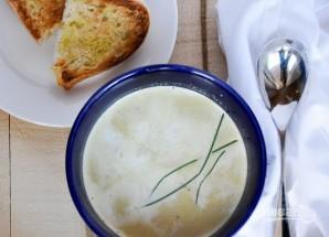 Крем-суп с картофелем и пореем - фото шаг 5