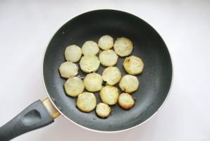 Салат с кабачками и баклажанами - фото шаг 2