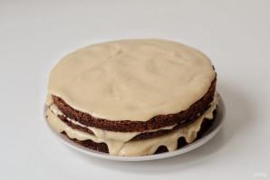 Шоколадный торт с кардамоном - фото шаг 12