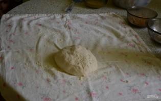 Яблочный штрудель из бездрожжевого теста - фото шаг 5