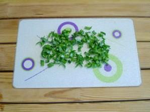 Салат крабовый с огурцом - фото шаг 5