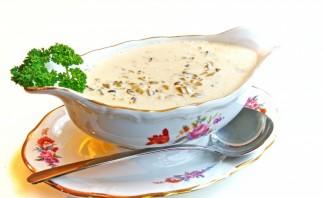 Грибной соус с сыром - фото шаг 4