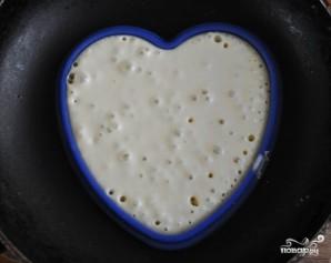 Американские блинчики на День святого Валентина - фото шаг 3