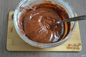 Шоколадный брауни с вишней - фото шаг 6