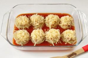 Тальятелле под сыром в томатном соусе - фото шаг 6