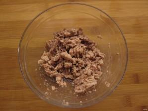 Простой салатик с печенью трески - фото шаг 2