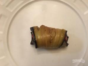 Рулетики из баклажанов с говядиной - фото шаг 9