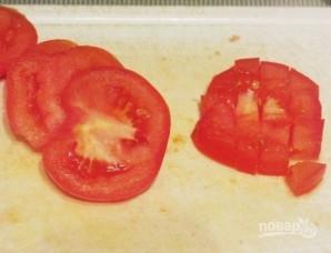 Салат с красной фасолью и сухариками - фото шаг 3
