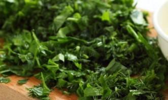 Салат из свежих кабачков - фото шаг 9