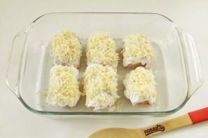 Куриные роллы с ветчиной и сыром - фото шаг 6