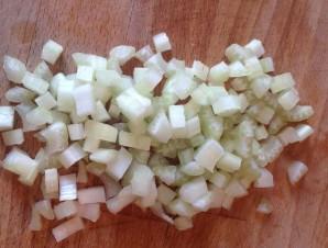 Грибной суп с лапшой - фото шаг 3