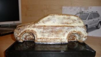 """Торт """"Автомобиль"""" - фото шаг 7"""