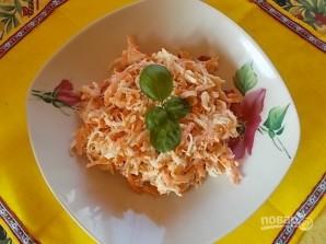 Салат из редьки и моркови - фото шаг 4
