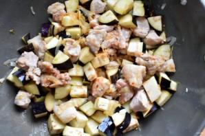 Рагу из свинины с баклажанами - фото шаг 2