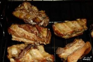 Свиные ребрышки в соевом соусе - фото шаг 7