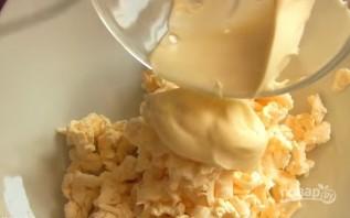 Рулетики из кабачков с сыром и чесноком - фото шаг 4