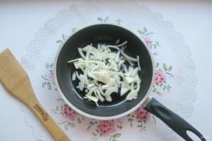Салат с мясом и жареными шампиньонами - фото шаг 5