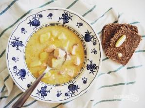 Финский суп с лососем и сливками - фото шаг 8