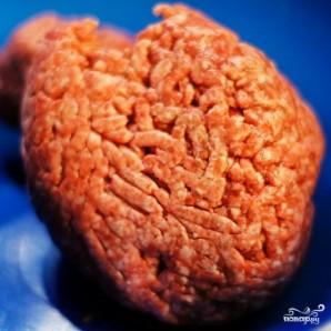 Мясные зразы с грибами - фото шаг 1