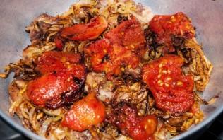 Курица с помидорами - фото шаг 7