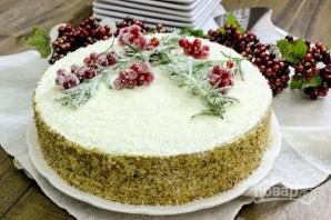 Медовый торт со сметанным кремом - фото шаг 15