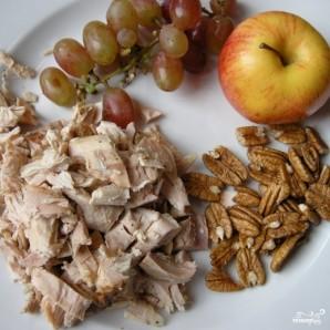 Салат Нежный с курицей - фото шаг 1