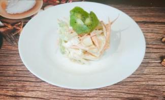Салат из яблок, моркови и сельдерея - фото шаг 6