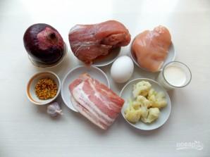 Куриный террин со свиной вырезкой - фото шаг 1