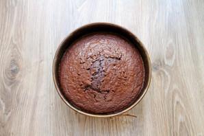 Шоколадный торт на молоке - фото шаг 8