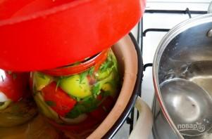 Салат из помидоров с перцем на зиму - фото шаг 7