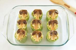 Кабачки, фаршированные булгуром и грибами - фото шаг 11