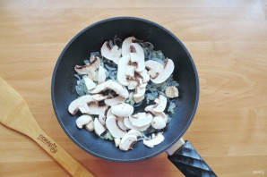 Цуккини с грибами - фото шаг 4