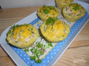 Тефтели в картофельных корзиночках - фото шаг 8