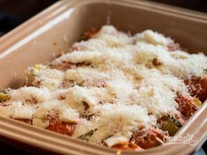 Макароны, фаршированные сыром и шпинатом - фото шаг 4