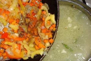 Суп куриный со стручковой фасолью - фото шаг 9